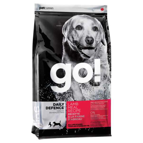 Go! Daily Defence Dog Lamb Recipe 25LB